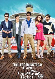 One Way Ticket Marathi movie poster