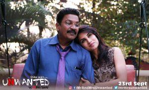 Mr & Mrs Unwanted Marathi Movie Poster