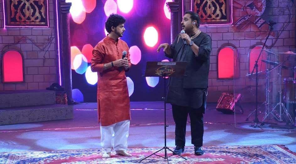 Shankar Mahadevan & Mahesh Kale Sargam shwo
