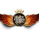 Sangeet Samrat Logo without BG Dotted Pattarn white